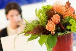 Kontakt-Blumen
