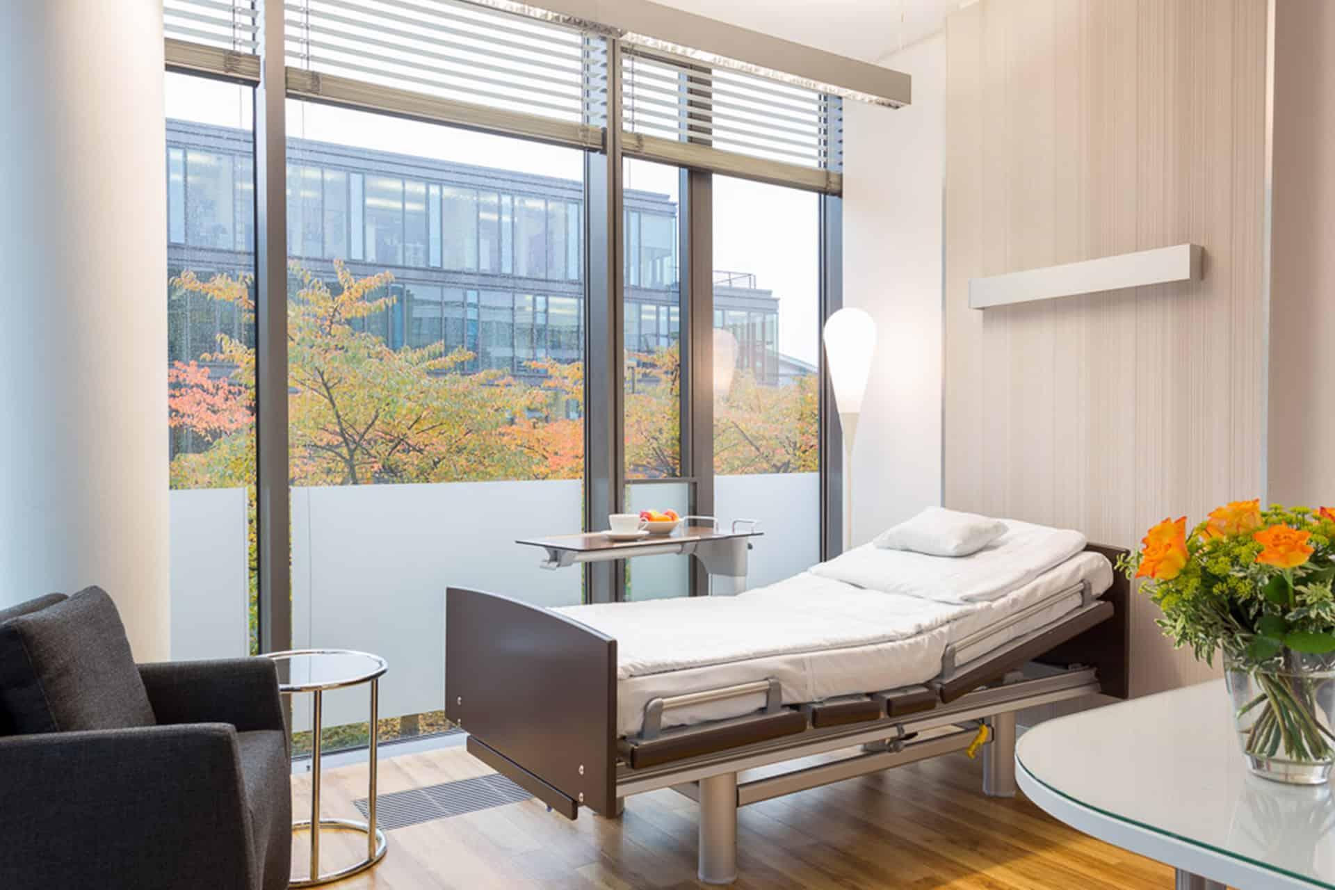 Your accommodation in the Beta Klinik | Privatklinik | Beta Klinik