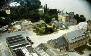 Die Gebäude im Jahr 1987, dem Jahr der Schließung. Quelle: Archiv Heimatverein Bonn-Oberkassel e.V.