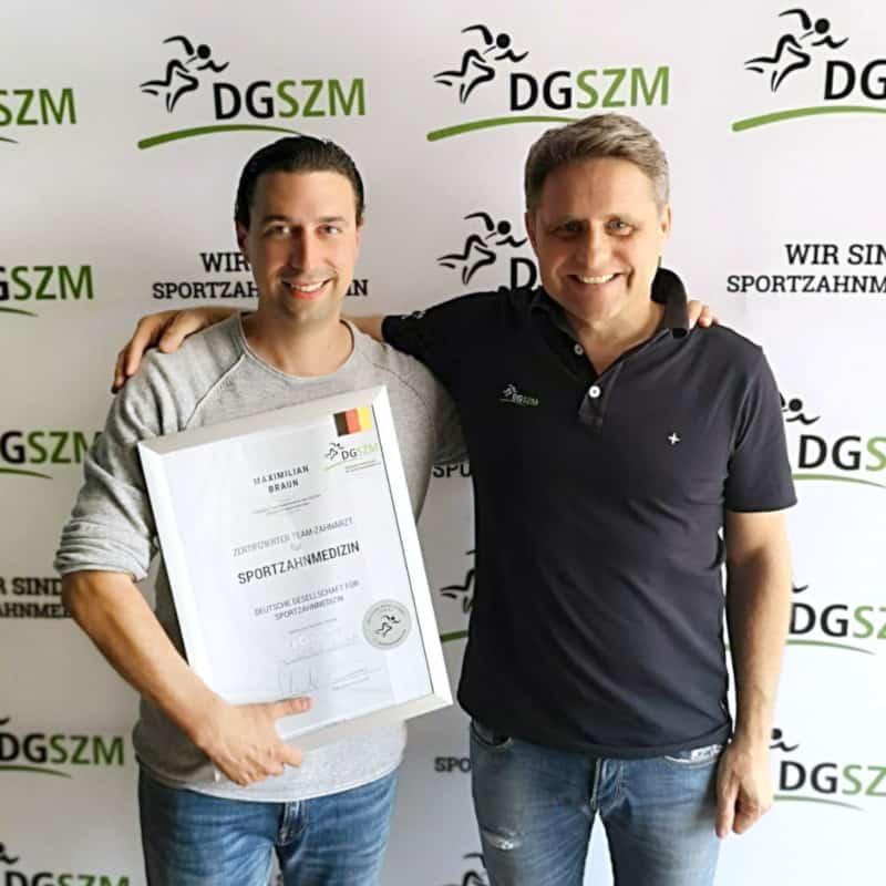 Sportzahnmedizin-Maximilian-Braun-absolviert-erfolgreich-das-Curriculum-Sportzahnmedizin
