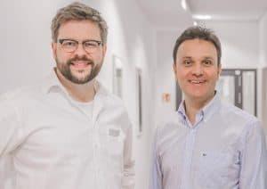Portrait von Dr. Weimann und Dr. Demant